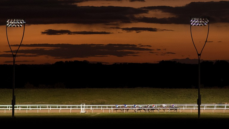 Racing at Chelmsford under lights tonight