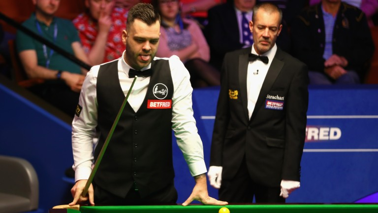 Jimmy Robertson has been scrapping for all he is worth in Belgium