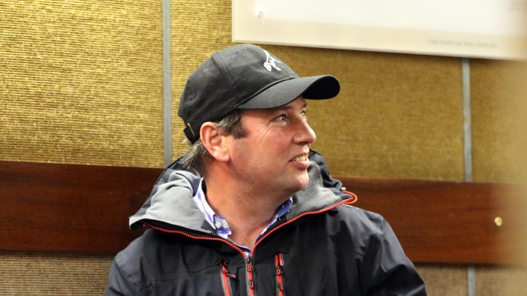 Kevin Ross: enjoyed a busy day of buying at the Goffs Sportsman's Sale