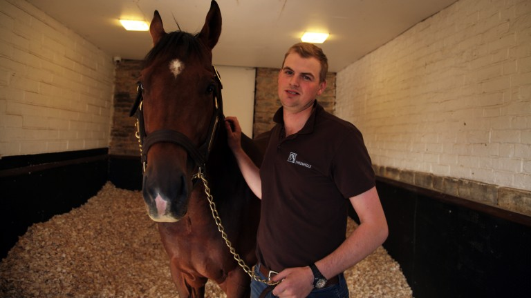 Ivo Thomas was assistant trainer to Brian Meehan for three years