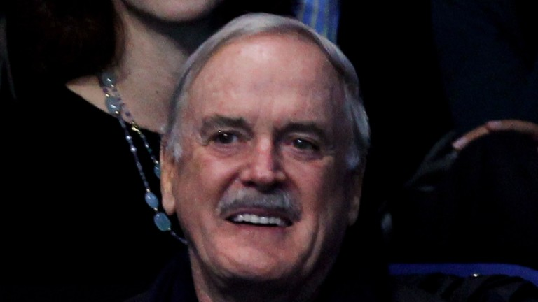 John Cleese would play Michael Dickinson in the film of his life