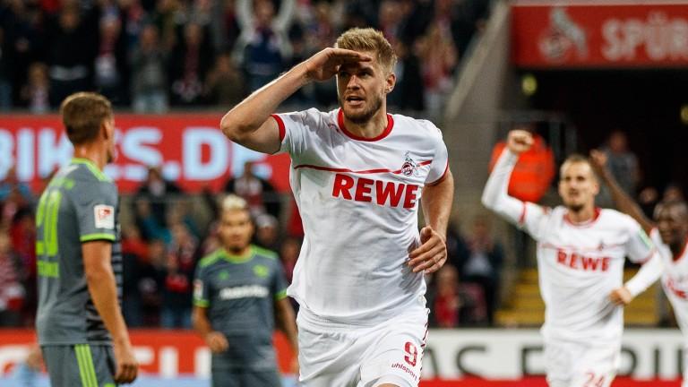 Cologne striker Simon Terodde sets his sights on promotion