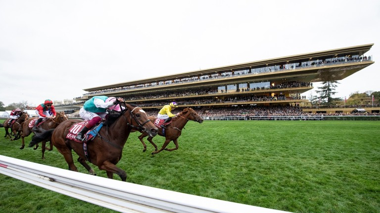 Watch Enable win her second Arc