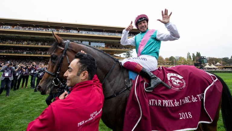 The joy of six: Frankie's over the moon after a sixth Arc victory on Enable