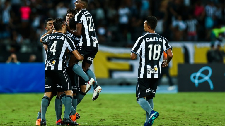 Botafogo could be celebrating a derby success