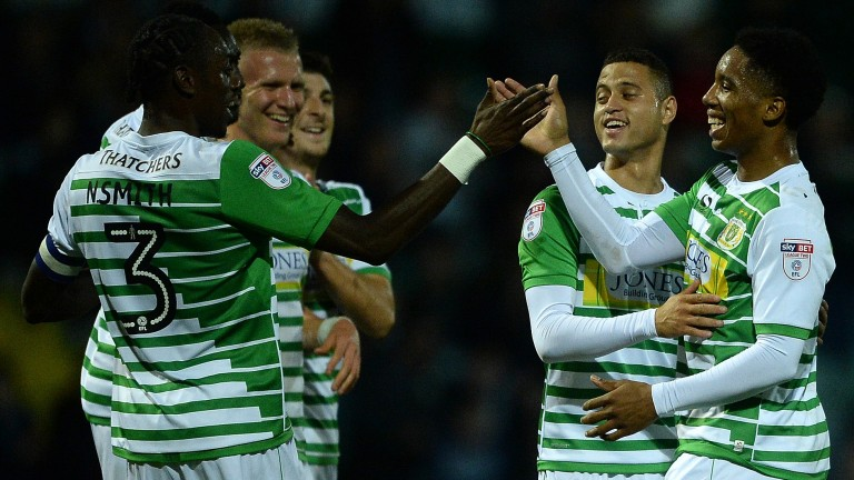 Yeovil will hope for more to smile about when they visit Bristol Rovers