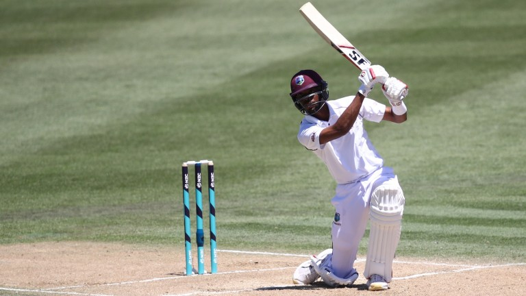 Roston Chase is one of the West Indies' more reliable runscorers
