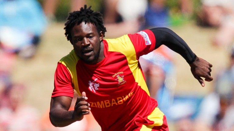 Solomon Mire of Zimbabwe can be a threat at the top of the order