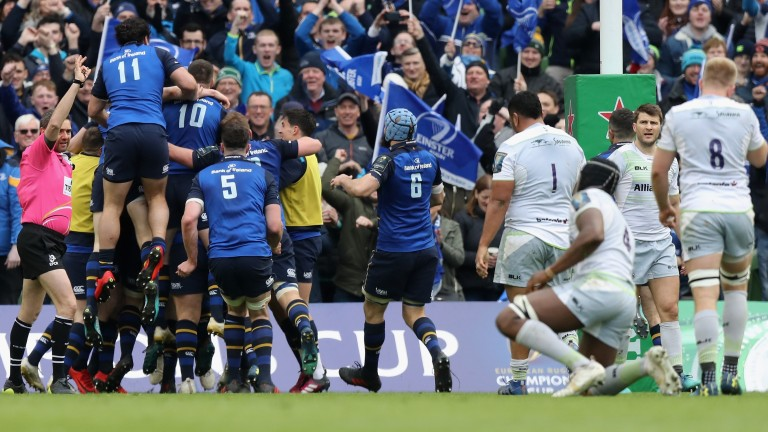 Leinster were too good for English champions Saracens in last season's Champions Cup quarter-final