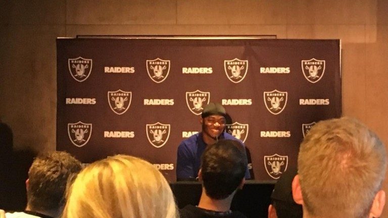 Amari Cooper hopes to make his first trip to London a memorable one