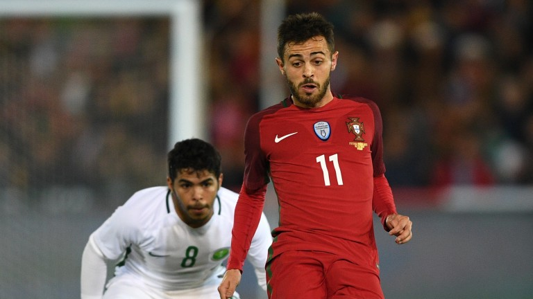 Bernardo Silva is becoming increasingly influential for Portugal