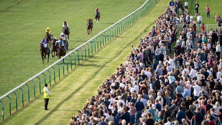 Crowds could be absent for a year on British tracks