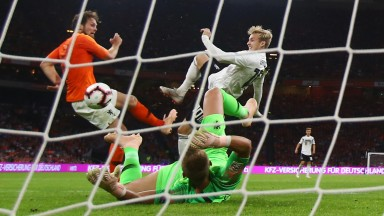 Germany couldn't find a way past Holland goalkeeper Jasper Cillessen on Saturday