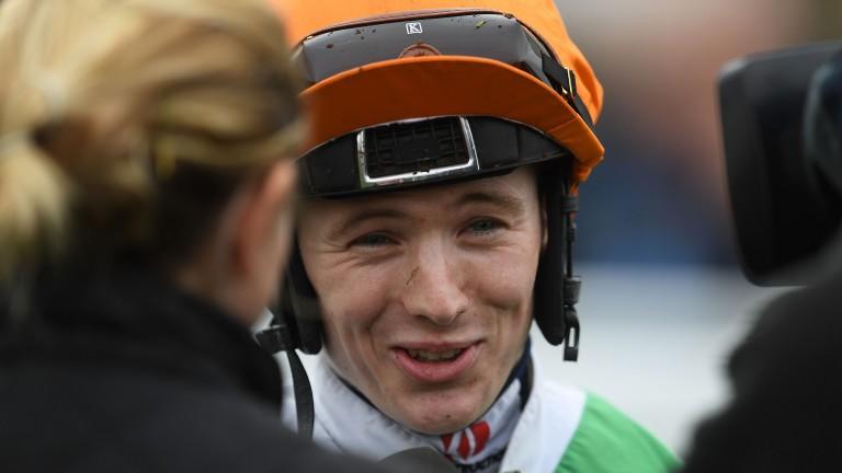 Colin Keane: runner-up in the jockeys' title race despite riding more than 100 winners