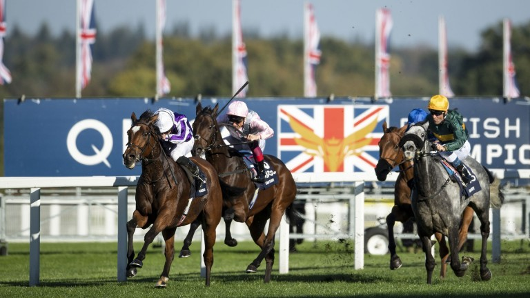Magical powers home to win for Ryan Moore and Aidan O'Brien