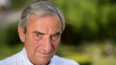 Luca Cumani, trainer of Postponed, at his Bedford House StablesNewmarket 16.7.15 Pic: Edward Whitaker