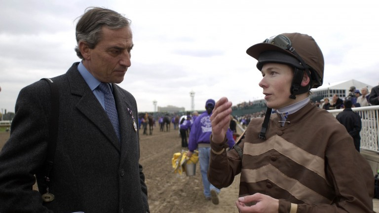 Jamie Spencer has benefited greatly from Luca Cumani's support