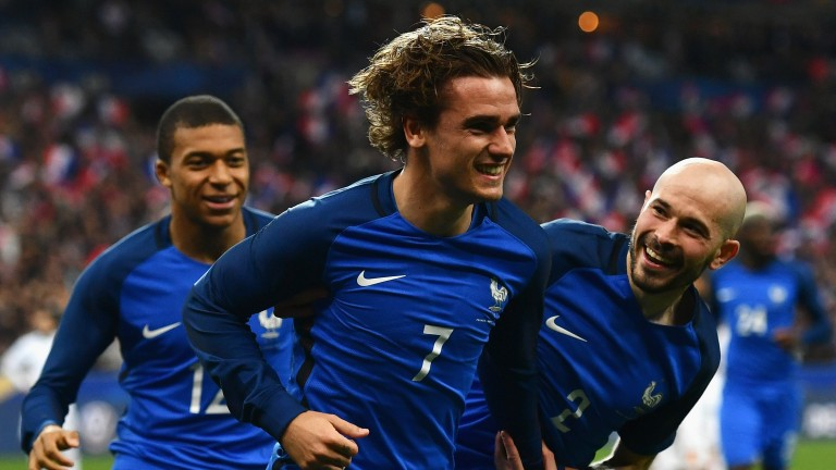 Antoine Griezmann: the French forward secured the session-topping lot at Arqana on Thursday