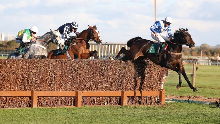 Frodon clears the last in front of Javert and Cloudy Dream