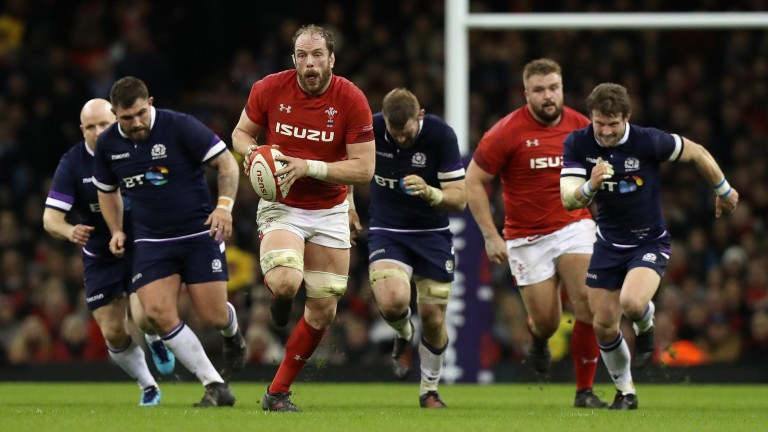 Alun-Wyn Jones and the Wales pack were too strong for Scotland in the Six Nations