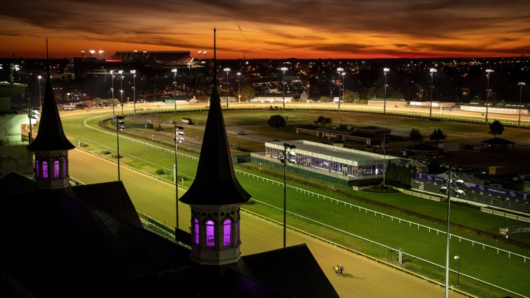 Under a Churchill Downs plan, winter race dates would be moved to a new track in Northern Kentucky