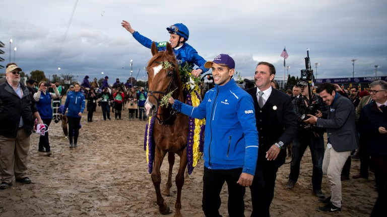 William Buick and Charlie Appleby could eventually celebrate their win