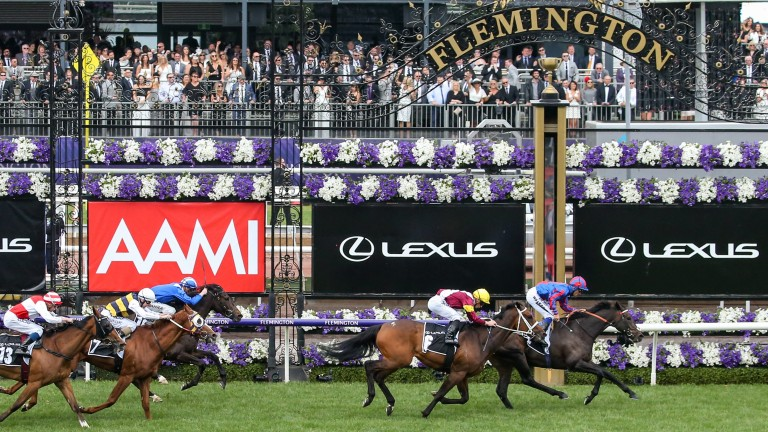 A Prince Of Arran: gets into Tuesday's Melbourne Cup without a penalty