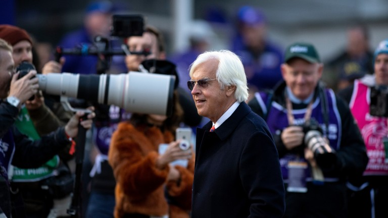 Bob Baffert: saddled the winners of both divisions of the Arkansas Derby earlier this month