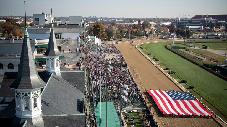 Churchill Downs: set to host the Kentucky Derby in September