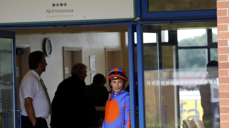 Champion jockey Silvestre de Sousa has swapped the weighing room at Nottingham where they race today for Happy Valley in Hong Kong