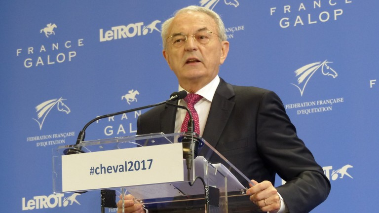 Jean Arthuis delivered an extensive report on the future structure and funding of racing and the wider equestrian sector to the French prime minister on Wednesday