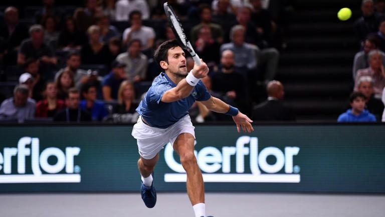 Novak Djokovic is a warm order in Abu Dhabi