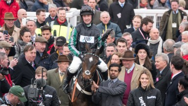 Altior returns in triumph after his Queen Mother Champion Chase win at Cheltenham in March