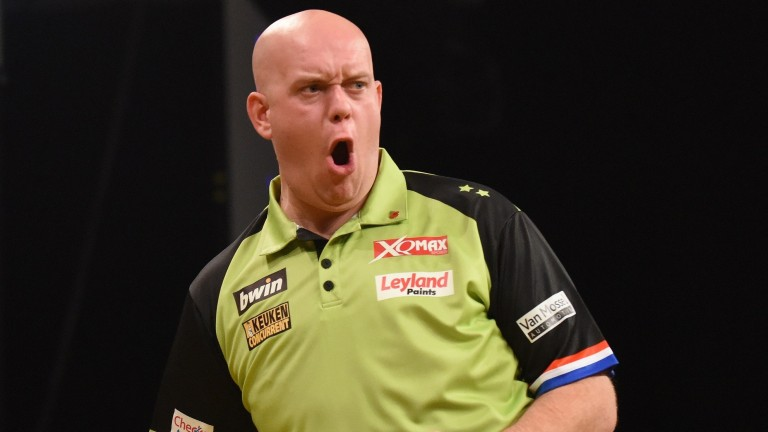 We could see something special from Michael van Gerwen this evening
