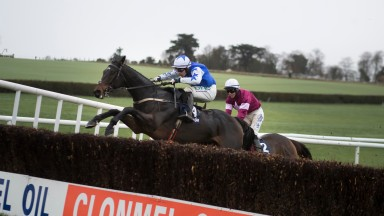 Kemboy and Paul Townend go long at the last in the Clonmel Oil