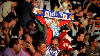 Real Zaragoza remain one of Spain's best-supported clubs