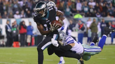 Nelson Agholor has proven to be a valuable target for Carson Wentz