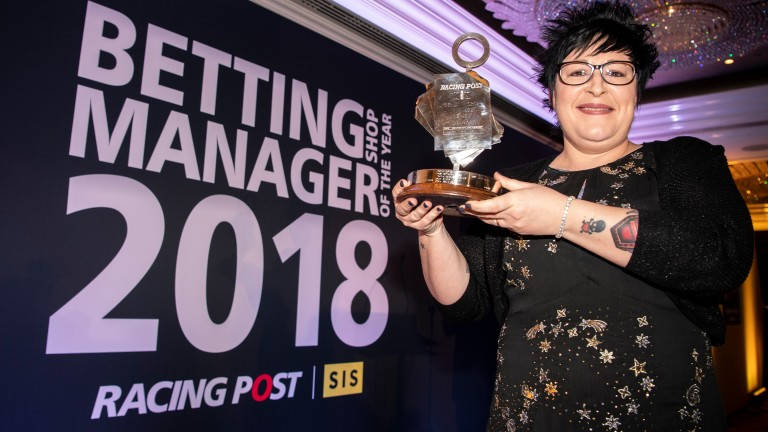 Lorraine Archibald: crowned Racing Post/SIS Betting Shop Manager of the Year in November