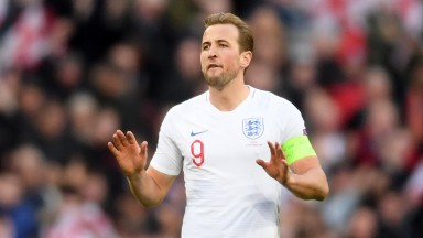 England captain Harry Kane