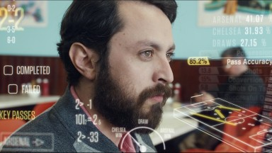 Ladbrokes advert stills for Betting Window