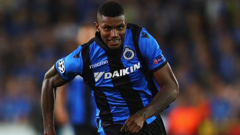 Brugge?s Brazilian striker Wesley may make his presence felt