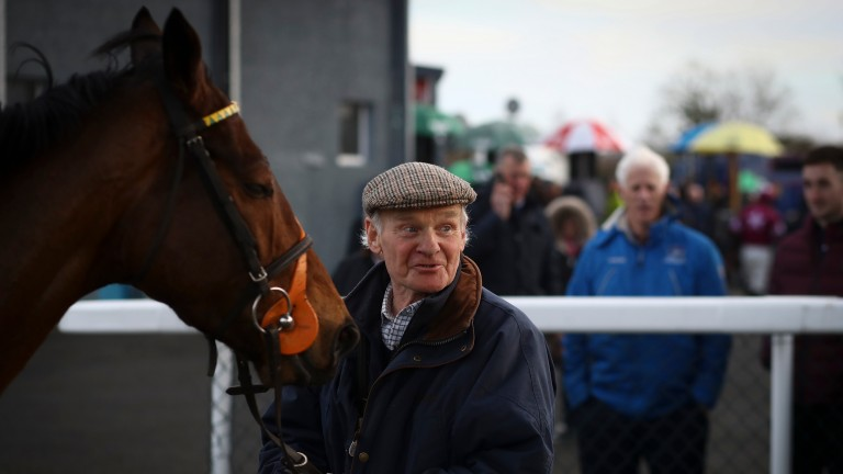 Frank Oakes: the 80-year-old trainer sent out his only horse in training to win on Monday