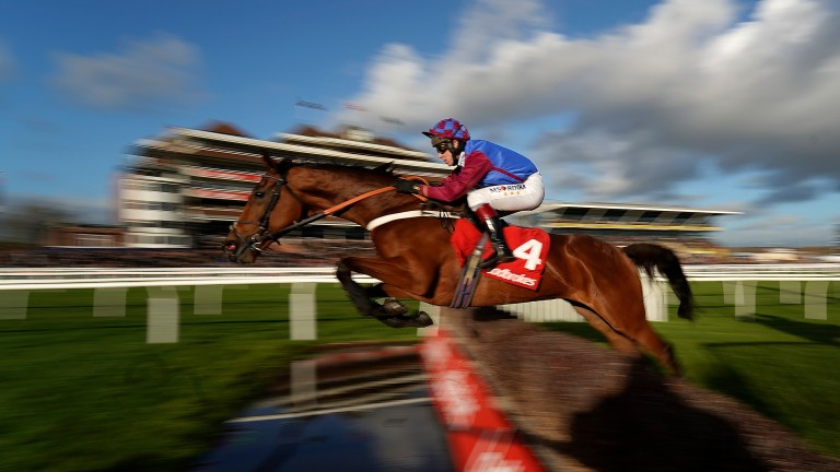 La Bague Au Roi and Richard Johnson represent Britain on the second day of the Dublin Racing Festival