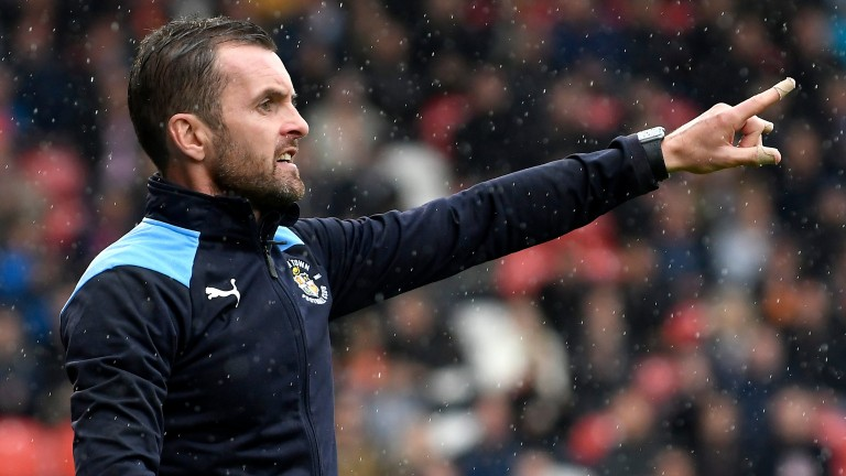 Luton boss Nathan Jones can guide his side into the FA Cup third round