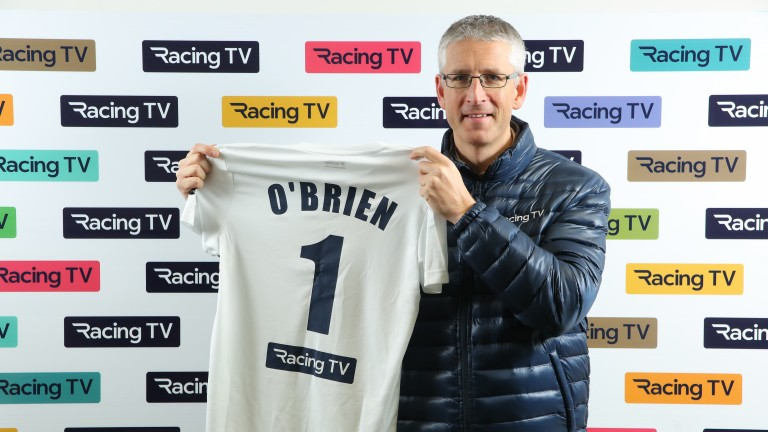Gary O'Brien has switched sides, joining Racing TV from At The Races