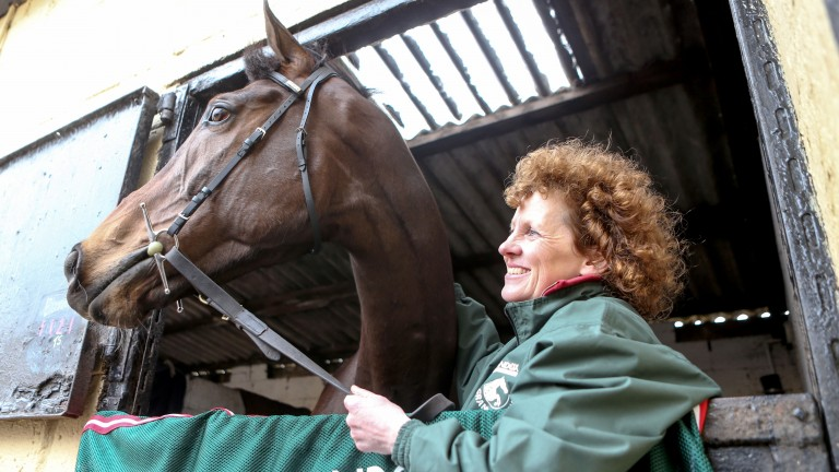 Lucinda Russell has been forced to change plans for One For Arthur