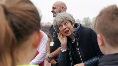 Prime Minister Theresa May is under pressure again