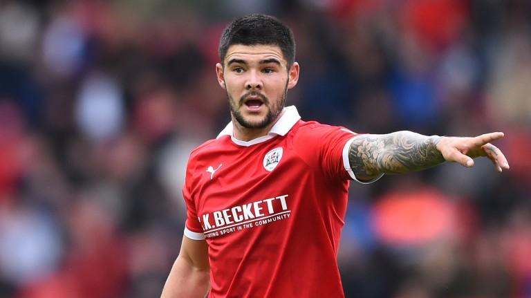 Barnsley midfielder Alex Mowatt