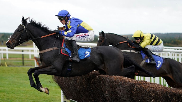 Coup De Pinceau: needs to sharpen up his jumping