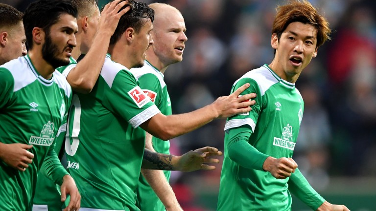 Werder have not struggled in front of goal this season